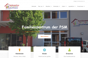 Die Neue Website des Familienzentrum